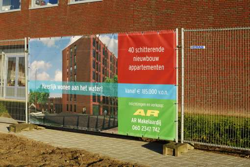 Advertising options with temporary fences